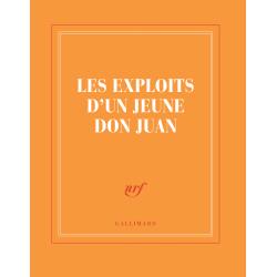 « Les Exploits d'un jeune don Juan » (carnet carré de papeterie)