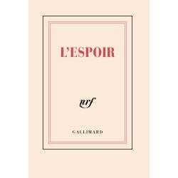 """""""L'Espoir"""" ( carnet poche de papeterie)"""