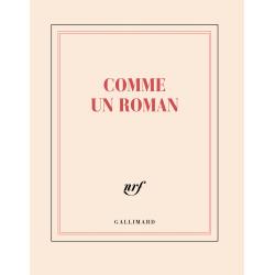 """""""Comme un roman"""" ( carnet carré de papeterie)"""