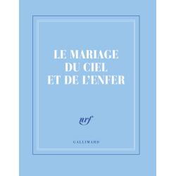 """""""Le mariage du ciel et de l'enfer"""" ( carnet carré de papeterie)"""