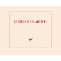 """""""Cahiers d'un artiste"""" ( carnet de dessin à l'italienne)"""