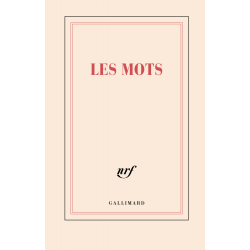 """""""Les mots"""" (carnet rigide ligné de papeterie)"""