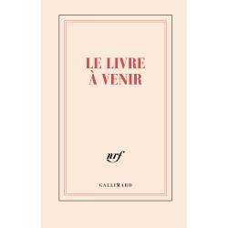 """""""Le livre à venir"""" ( carnet rigide ligné de papeterie)."""