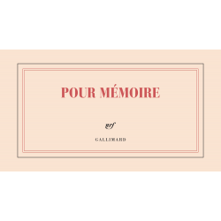 « Pour mémoire »