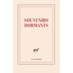 Carnet «Souvenirs dormants» (papeterie)