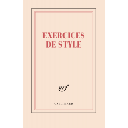 Grand carnet «Exercices de style» (papeterie)