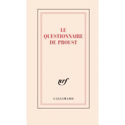 « Le questionnaire de Proust »