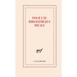 « Pour une bibliothèque idéale » (carnet de papeterie)