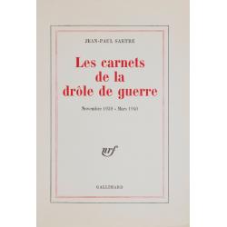 Les Carnets de la drôle de guerre. Novembre 1939 – mars 1940