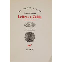Lettres à Zelda et autres correspondances