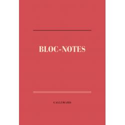 Bloc-notes de papeterie