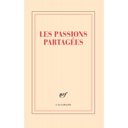 « Les passions partagées » (Grand carnet de papeterie)