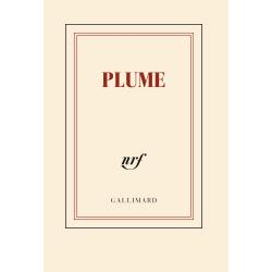 « Plume » (Carnet poche de papeterie)