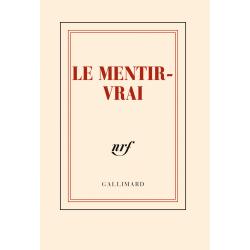 « Le mentir-vrai » (Carnet poche de papeterie)
