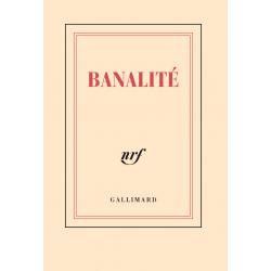 « Banalité » (Carnet poche de papeterie)