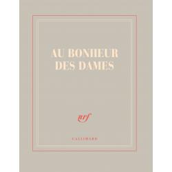 « Au Bonheur des Dames » (Carnet carré de papeterie)