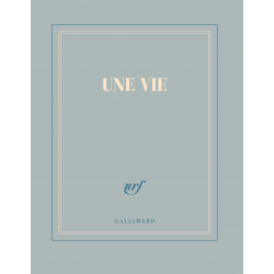 « Une vie » (Carnet carré de papeterie)