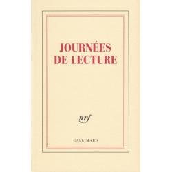 « Journées de lecture » (Carnet de papeterie)