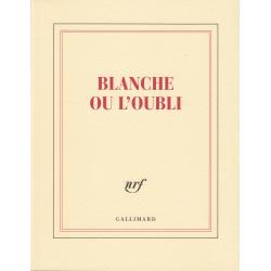 « Blanche ou l'oubli » (Carnet carré de papeterie)