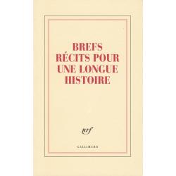 « Brefs récits pour une longue histoire » (Grand carnet de papeterie)