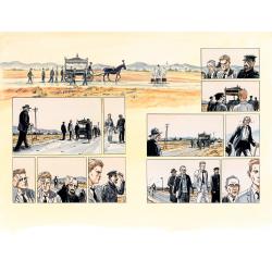 L'Étranger, planches 16/17 & pages 20/21