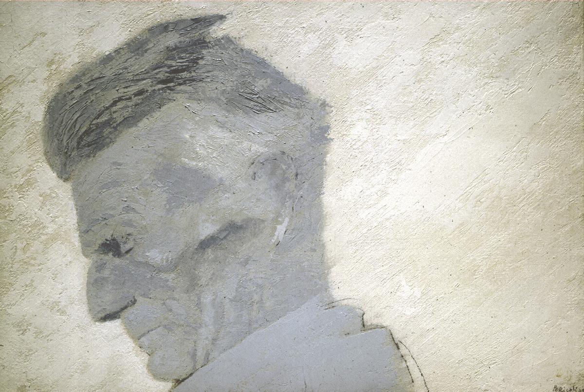 Huile sur papier marouflé sur toile, 28 x 41 cm, 2005