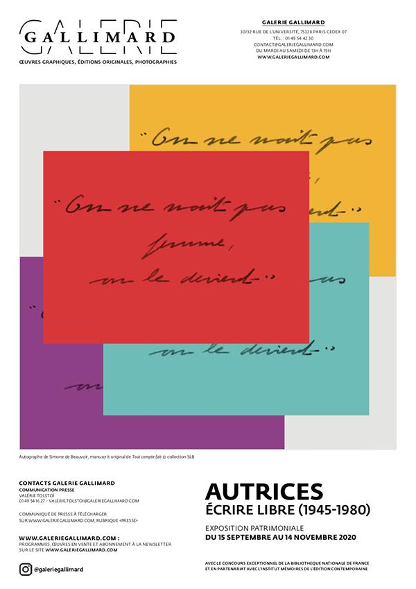 CP Autrices, écrire libre (1945-1980)